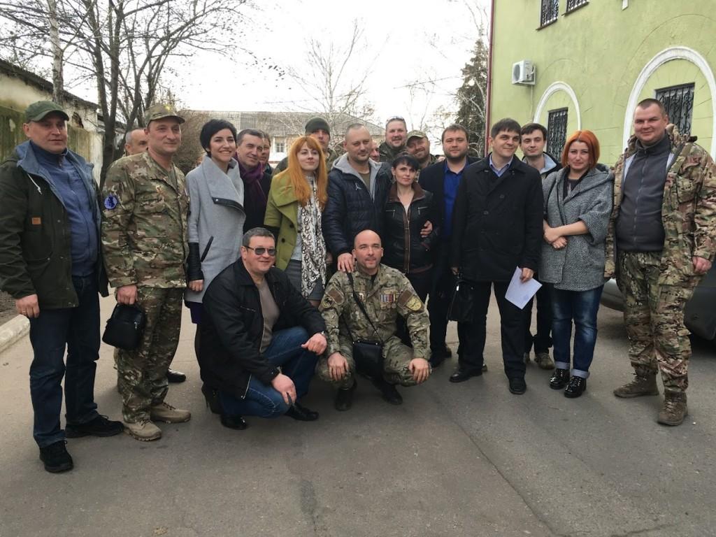 Звільнений з під варти Крим і наша команда захисту