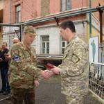 Нагорода знов знайшла героя. Леоніда Маслова нагороджено медаллю «За військову службу Україні».